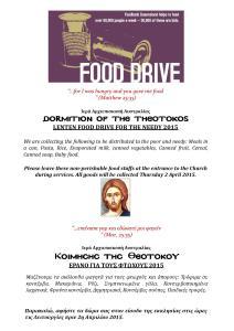 Food Bank Drive Poster 2015 JPEG